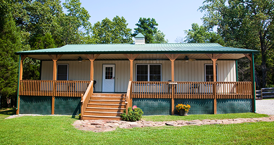 Bunkhouse Cabin - A cabin for a big family vacation or large group